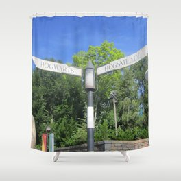 Take the road most traveled Shower Curtain