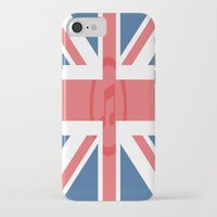 england iPhone & iPod Cases featuring  England by XKbeth