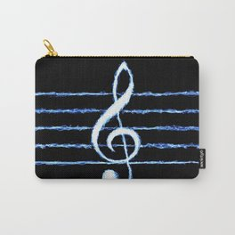 Treble Clef Lightning *revised Carry-All Pouch