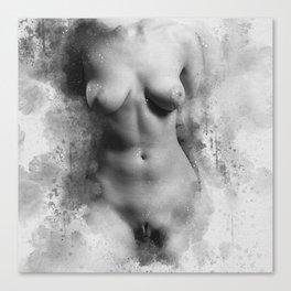 Naked Venus Canvas Print