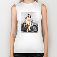 collage Biker Tanks featuring CardinalsRoller Collage by Marko Köppe