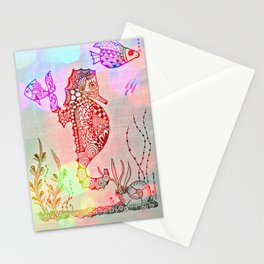Spirit of the Seahorse  Stationery Cards