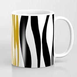 Ebb and Flow - Dark Yellow Coffee Mug