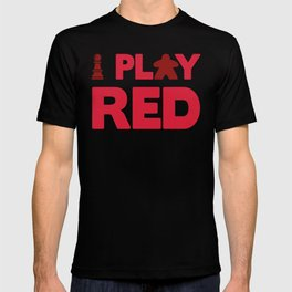 Show Your Game Color - Red T-shirt