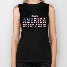 Make America Great Again - 2016 Campaign Slogan Biker Tank