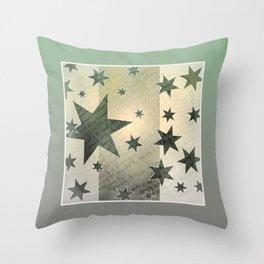 Star Peace Throw Pillow