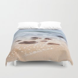 By the Shore - Landscape and Nature Photography Duvet Cover
