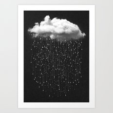 Let It Fall III Art Print