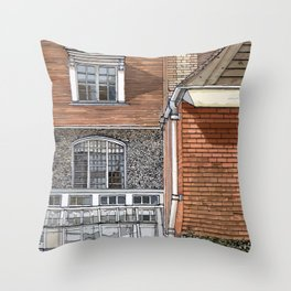 STANDEN1 Throw Pillow