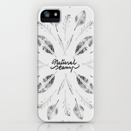 Natural Stamp iPhone Case