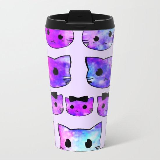 cats-407 Metal Travel Mug