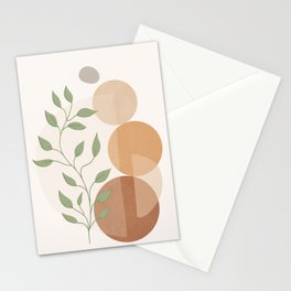 Abstract Rock Geometry 19 Stationery Cards