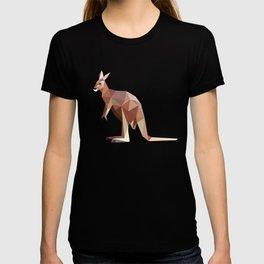 Geometric Kangaroo T-shirt