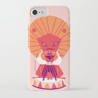 be brave iPhone & iPod Cases featuring Brave by Carolina Búzio