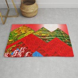 Colorful Peaks Rug