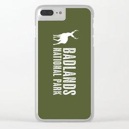 Deer: Badlands National Park, South Dakota Clear iPhone Case