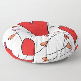 Spread love Floor Pillow