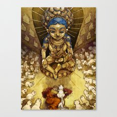 Sacred Cats of Burma Canvas Print