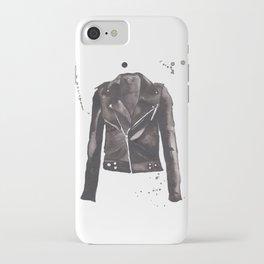 Motorcycle Jacket iPhone Case