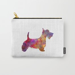 Scottish Terrier in watercolor Carry-All Pouch
