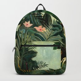 The Equatorial Jungle - Henri Rousseau Backpack