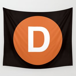 D Train Wall Tapestry