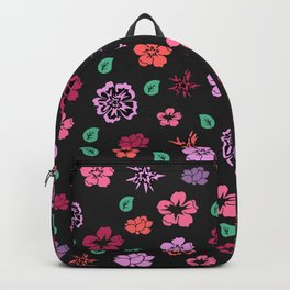 Floral background Backpack