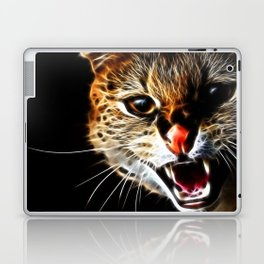 Scared catpainting Laptop & iPad Skin