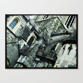 Church Close Up View Canvas Print