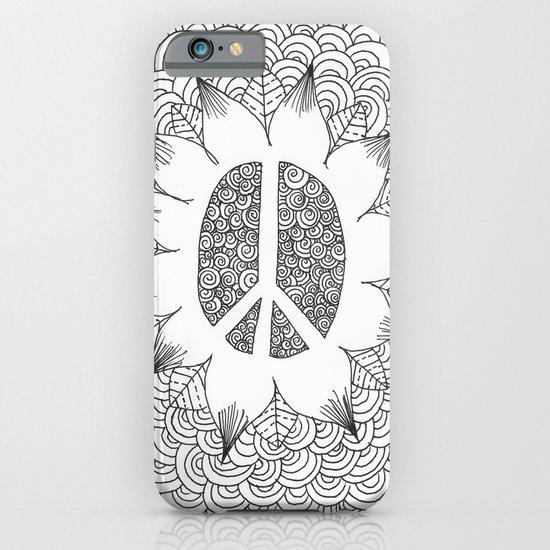 Peace Doodle iPhone & iPod Case