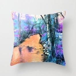 Big Chico Creek Throw Pillow