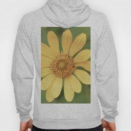 Beautiful Yellow Vintage Flower Hoody