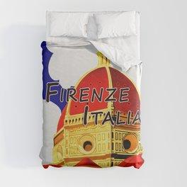 Firenze - Florence Italy Travel Duvet Cover