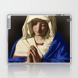 The Virgin in Prayer by Giovanni Sassoferrato (c. 1645) Laptop & iPad Skin