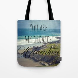 My greatest adventure Tote Bag
