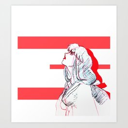 A Tragic Love Art Print
