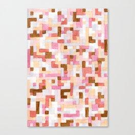Nude Blocks 1 Canvas Print