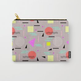 Memphis Forever - Taupe Carry-All Pouch