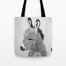 Donkey - Black & White Tote Bag