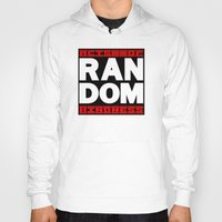 random Hoodies featuring RANDOM by PsychoBudgie
