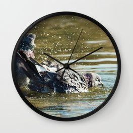 It should be done like this! Wall Clock