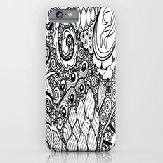 Zentangle Pebbles Slim Case iPhone 6s