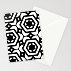 Vogelaar Black & White Pattern Stationery Cards