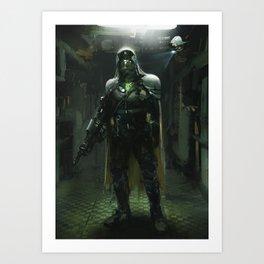 Future soldier Art Print