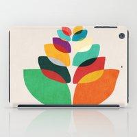 lotus flower iPad Cases featuring Lotus flower by Picomodi