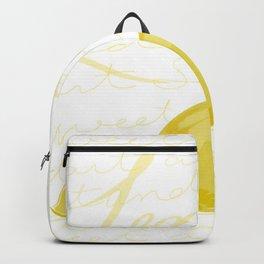 Tart as a lemon Backpack