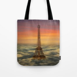 Sous Le Ciel De Paris Tote Bag