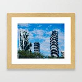 Broadbeach High Rise Framed Art Print