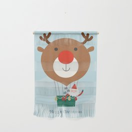 Air Rudolph Wall Hanging