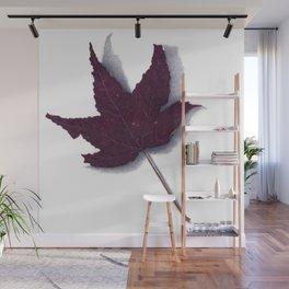 Sweet Gum Leaf Watercolor Wall Mural